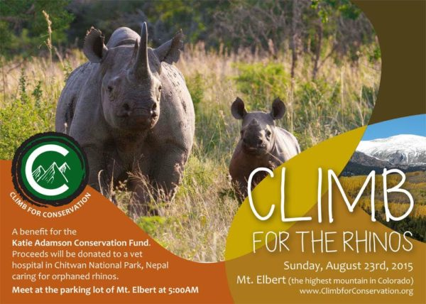 Climb for Conservation summited Mt. Elbert