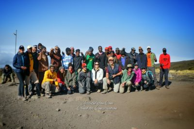Mt. Kilimanjaro with Tusker Trails 2016