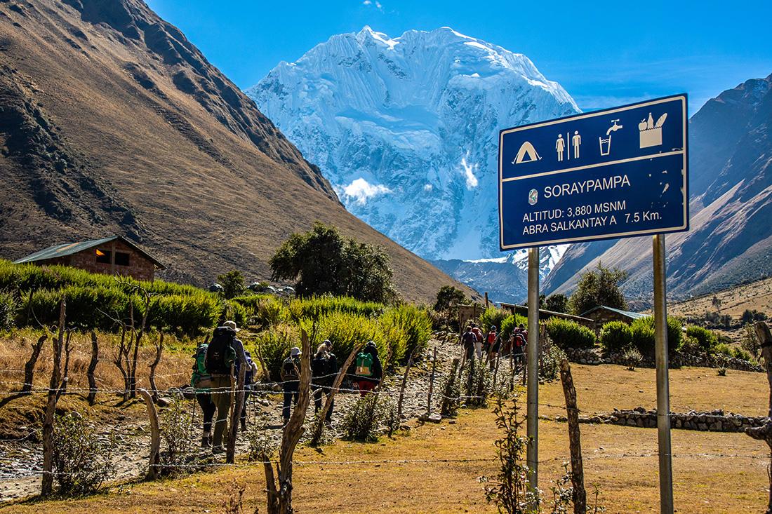 Salkantay Trek to Machu Picchu 2018